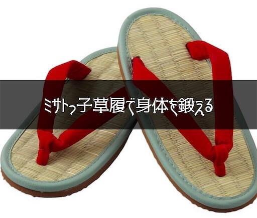 ミサトっ子草履
