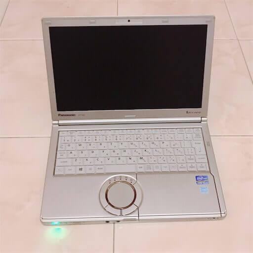 パナソニックのノートパソコン