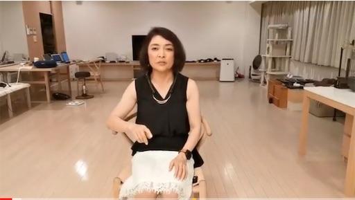 勝間和代さんのファッション